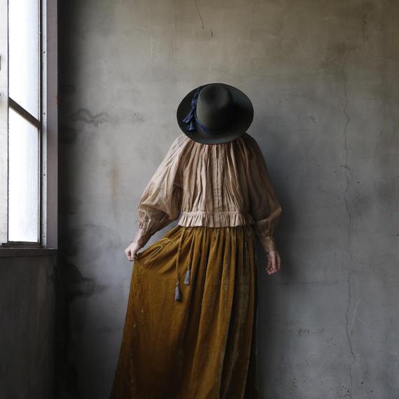 Tabrik タブリク / Gather blouseブラウス / ta-18044