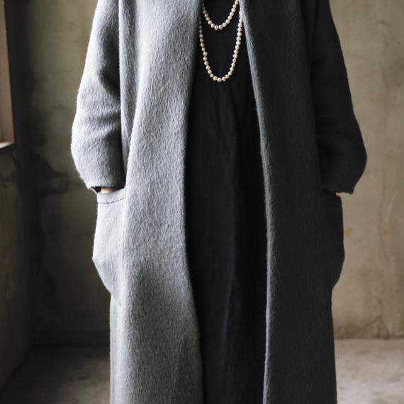 Tabrik タブリク /  Shaggy wool long-coatシャギーウールコート/ ta-17026