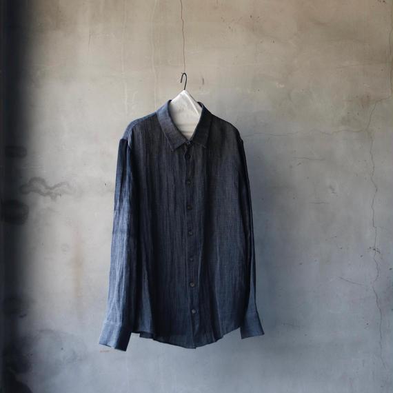 golem ゴレム /  gradation sleeve Shirtリネンシャツ / go-18001