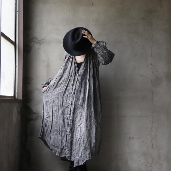 Tabrik タブリク /  gather robeギャザーローブ/ta-18036