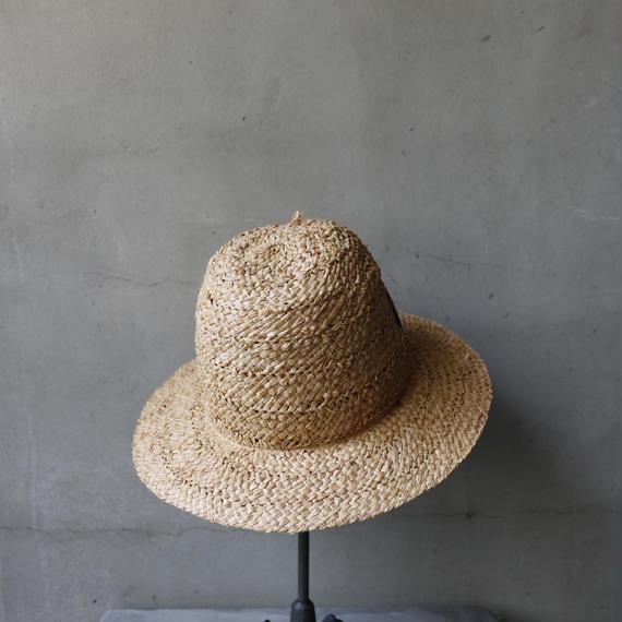 Muhlbauer ミュールバウアー/ NATURAL  STRAW  HAT 帽子/ Mu-18002