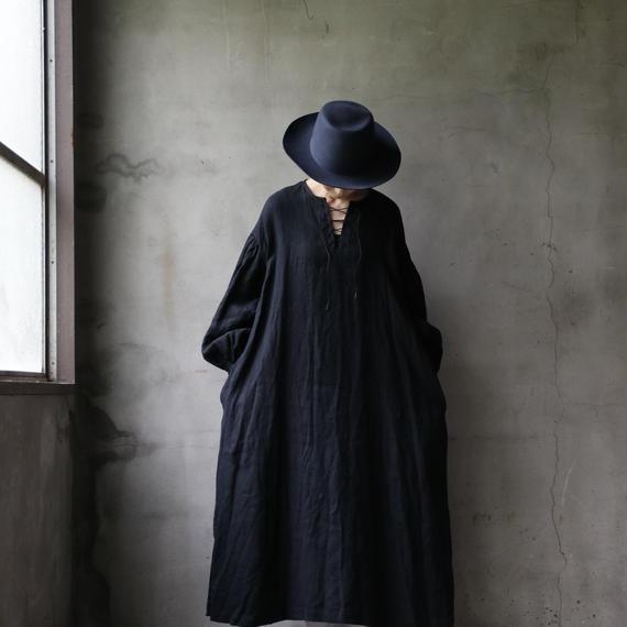 cavane キャヴァネ /  Lace-up one-piece 編み上げワンピース / ca-18086