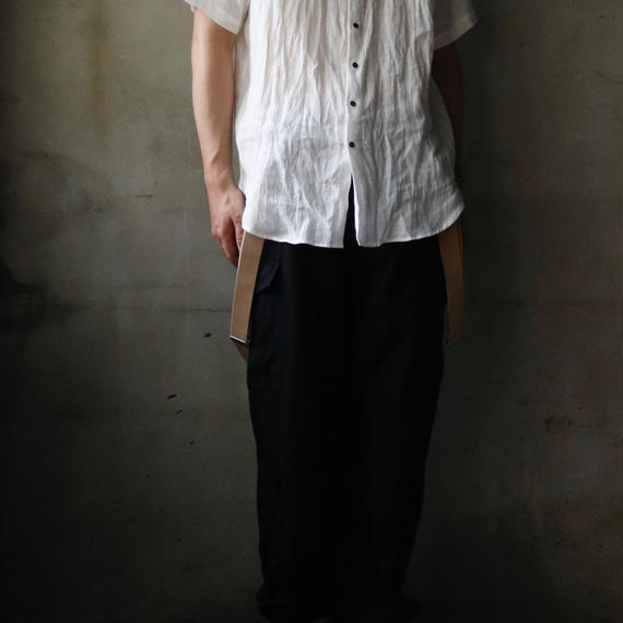 cavane キャヴァネ /  Short sleeve linen shirtsシャツ / ca-18059