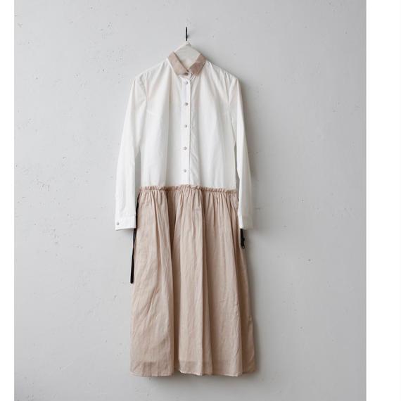 cavane キャヴァネ / Shirts One-pieceシャツワンピース/ ca-17058