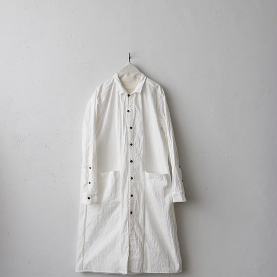 KLASICA クラシカ /Long classic shirts unisex ロングコート/ kl-18002