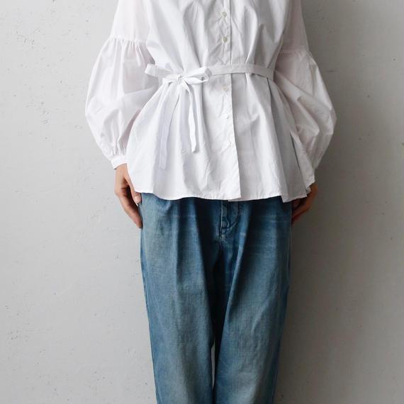 cavane キャヴァネ / Puff-sleeve blouseパフスリーブブラウス/ ca-18007