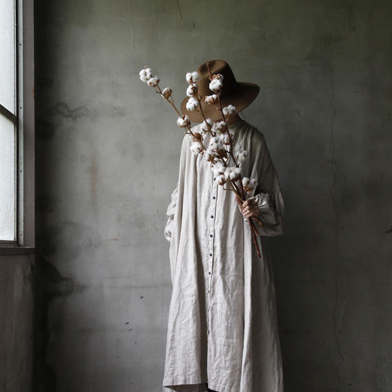 cavane キャヴァネ /  【受注】Balloon sleeve dressバルーンスリーブドレス / ca-18081