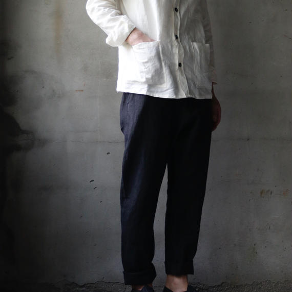 Bergfabel バーグファベル / Shirt with standing collar / BFmsh33/620