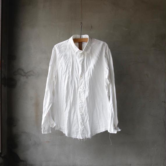 cavane キャヴァネ / French linen shirtリネンシャツ / ca-18025