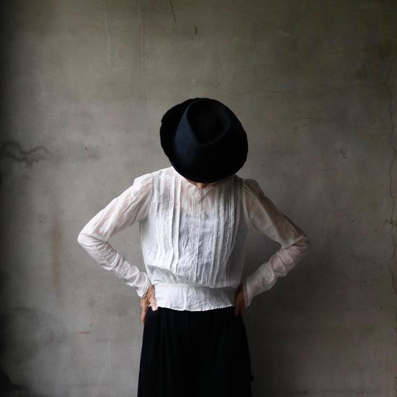 cavane キャヴァネ / Farmer-lace blouse ファーマーレースブラウス /  ca-18075