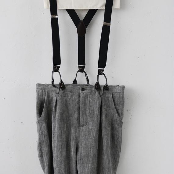 cavane キャヴァネ / [予約] Pants with suspenderパンツ/ ca-190202