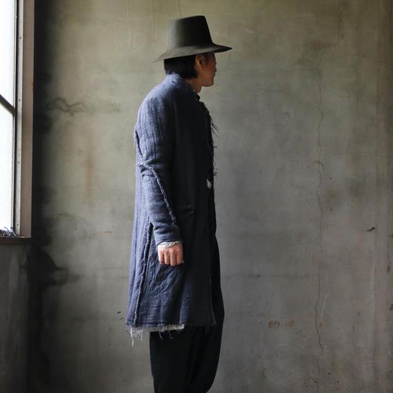 KLASICA クラシカ / Half-Length cutoff coat コート  / kl-17013