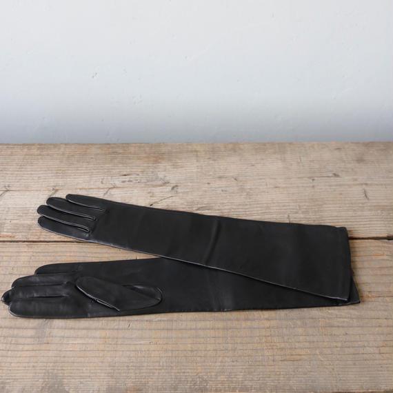 AGNELLE アニュエル / Leather long-glove革手袋 /ag-17004