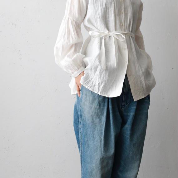 cavane キャヴァネ / Puff-sleeve blouseパフスリーブブラウス/ ca-18007l