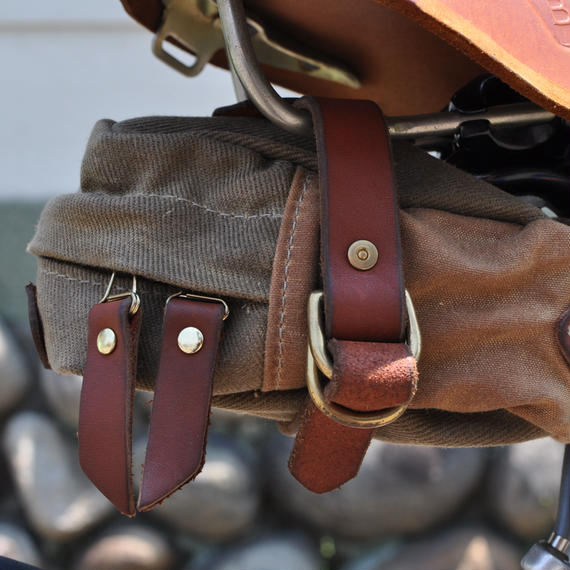 TANNER Courier Saddle Bag