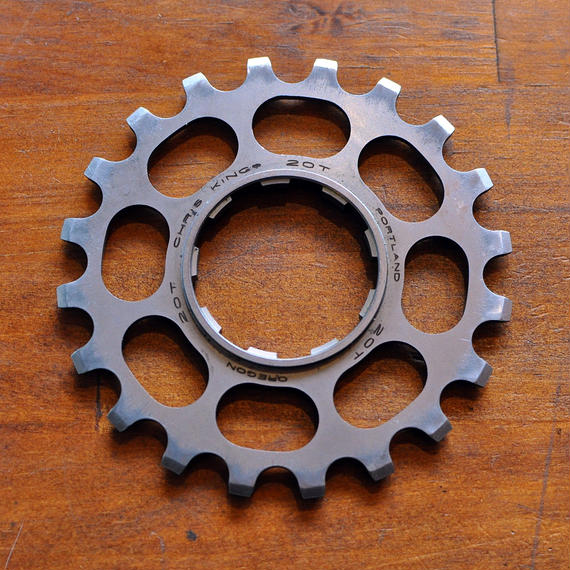 CHRIS KING Stainless Steel Cog(20t)