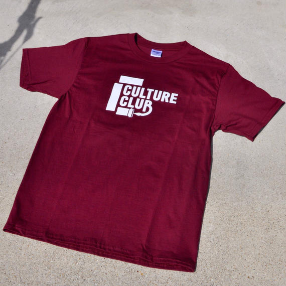 Culture Club T-shirt / Maroon