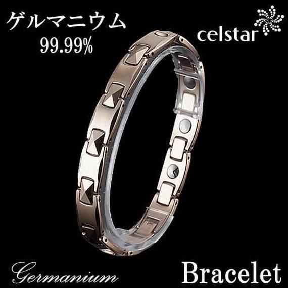 [CAISSE] W 12P ゲルマニウム ブレスレット レディース