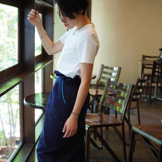 ウエストフリルボックススカート