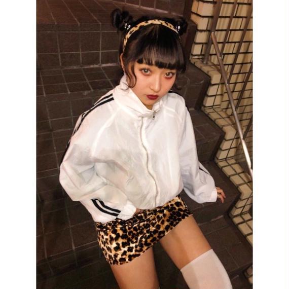Puberty leopard miniskirt