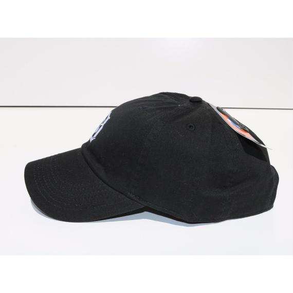 BLACK LABEL  HI   ストラップバックキャップ ブラック/ホワイト
