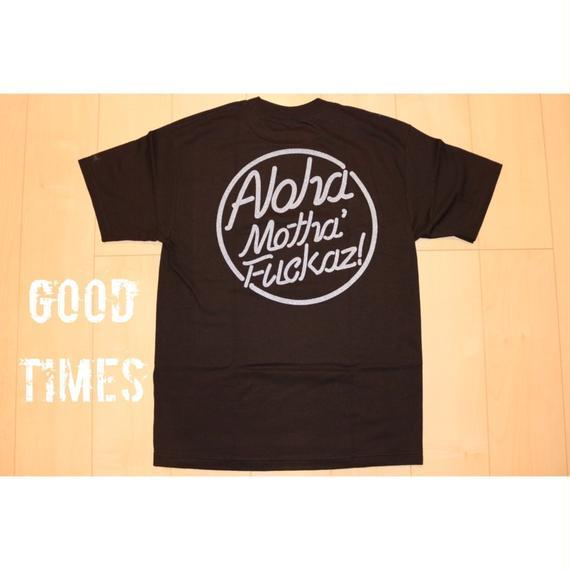 THE FILM  Aloha Motha'Fuckaz  TSHIRTS  ブラック/グレーラメ