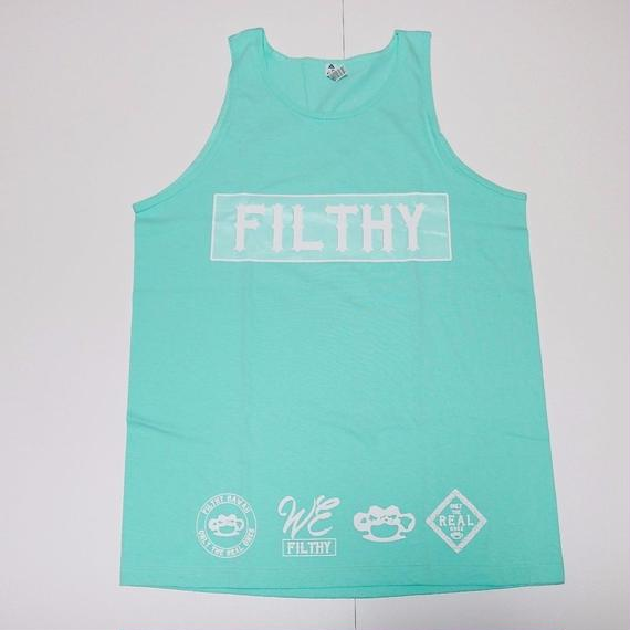 FILTHY HAWAII   TANK TOP ティファニーブルー