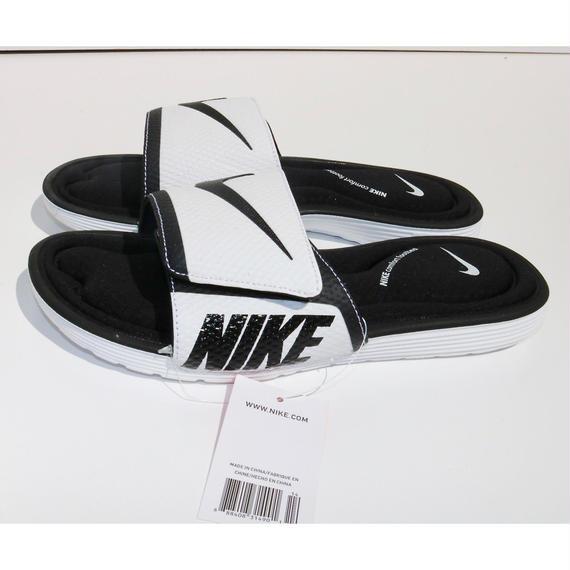 日本未発売!!NIKE comfort footbed サンダル ホワイト/ブラック