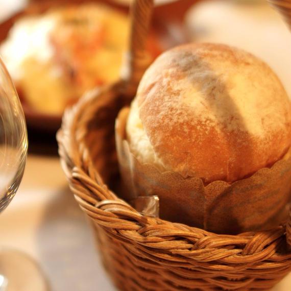 ブリオッシュパンと当家のバターセット