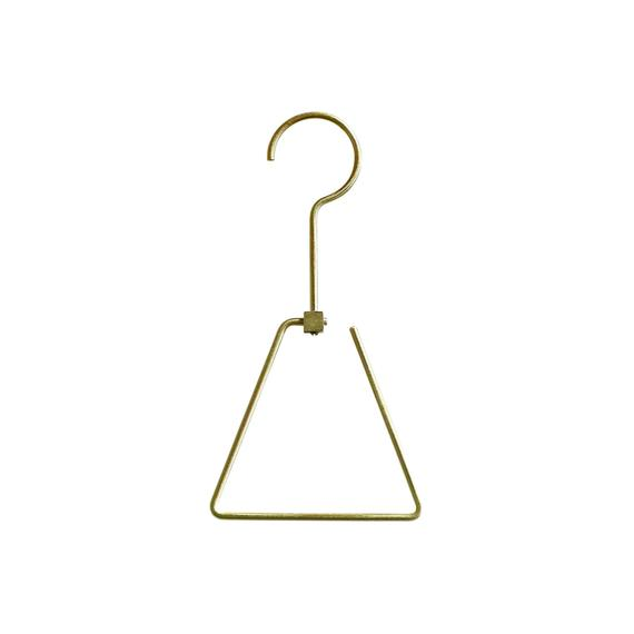 Brass Hanger - Triangle