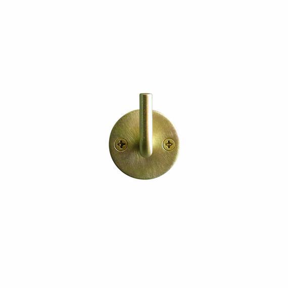 Brass Hook - Round