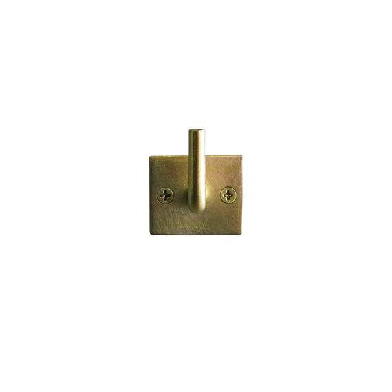 Brass Hook - Square