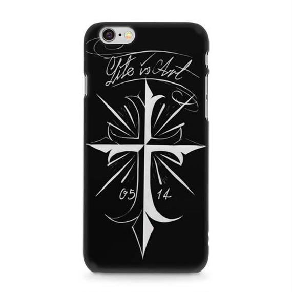 cross iphone case (Black)