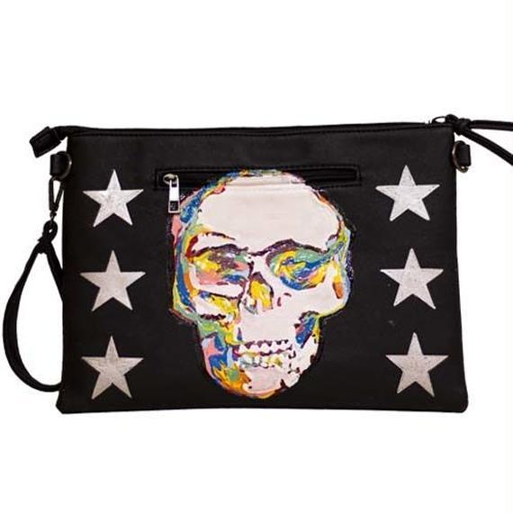 Skull clutchbag
