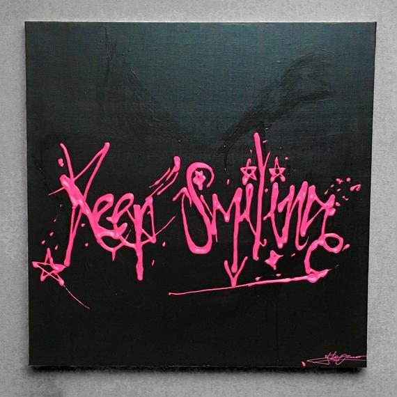 Keep Smiling(原画)