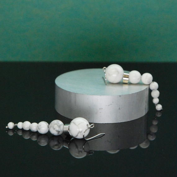 NEW OLYMPIA Earrings - HOWLITE