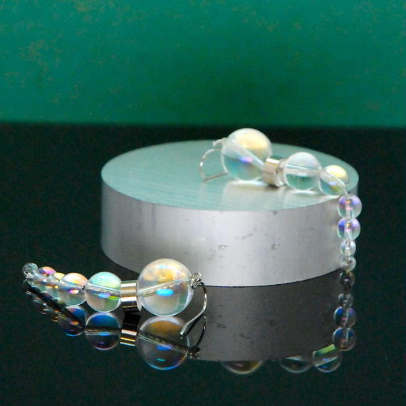 NEW OLYMPIA Earrings - RAINBOW QUARTZ