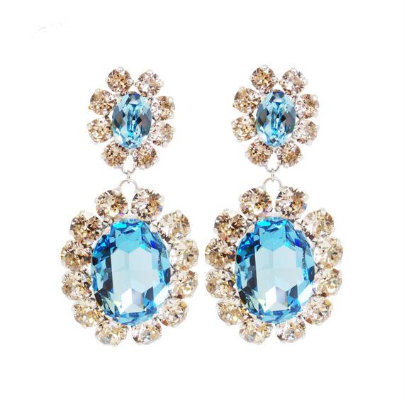 Oversized Bijoux Earring