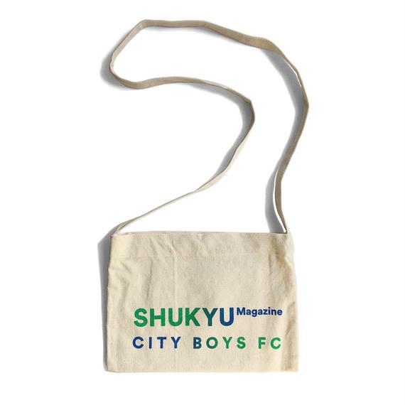 SHUKYU × CITY BOYS FC SACOCHE ⑬