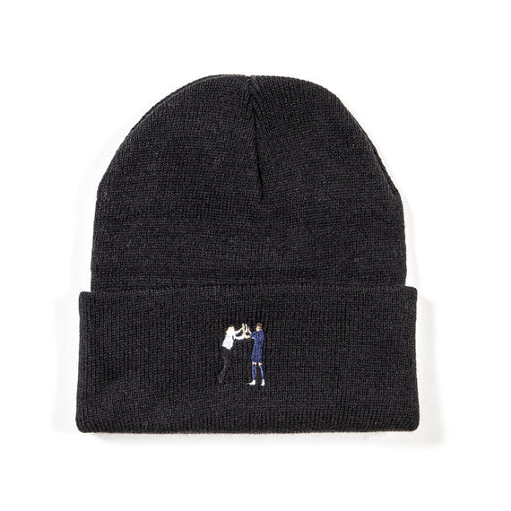 """HIGH-FIVE"" BEANIE / BLACK"