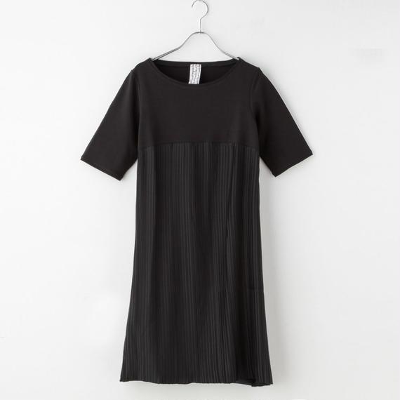 【SALE】プリーツドレス from Milano(black)