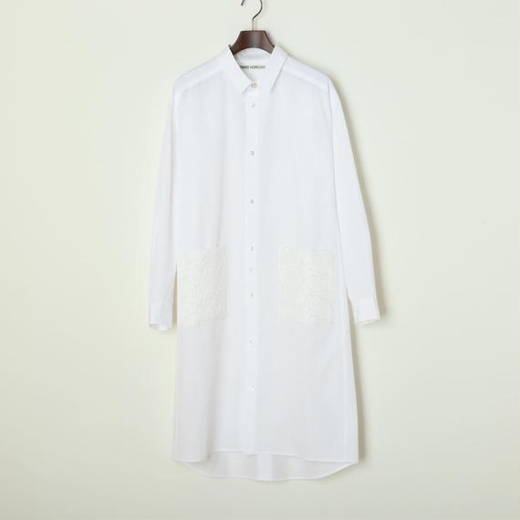 【SALE】コットン シャツドレス