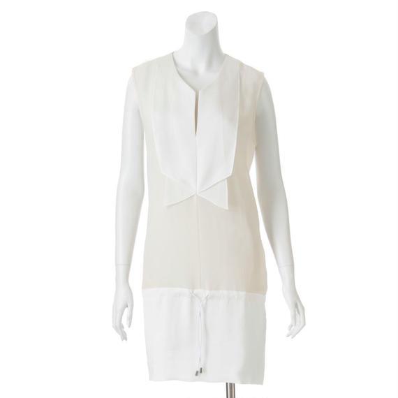 【SALE】ノースリーブのブラウスドレス