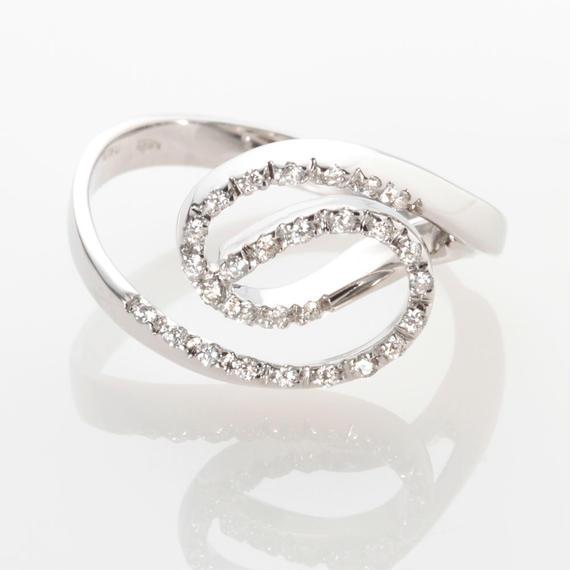 【SALE】ローズのダイヤモンドリング