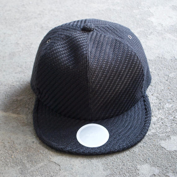 mitake/6panel cap(black)