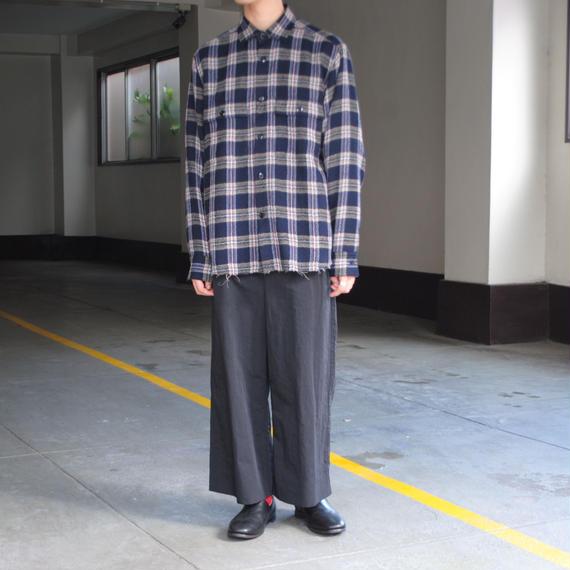 ANITYA/CPO shirt(navy)