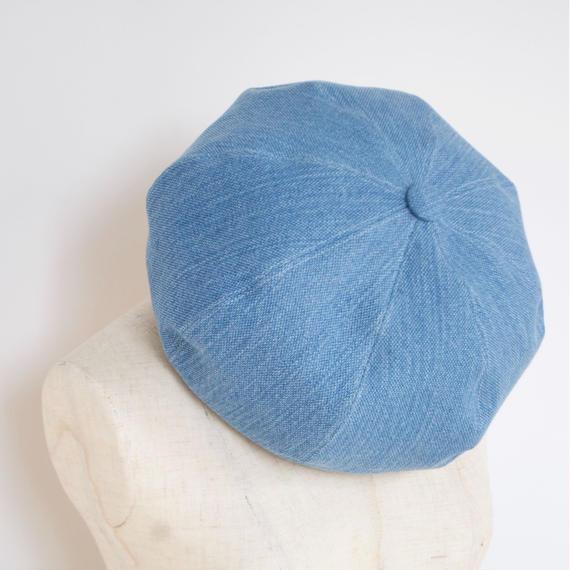 mitake/big beret(light blue)