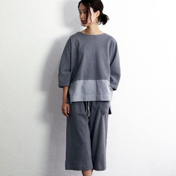 Hiroyuki Watanabe/ソメカオルパンツ(グレー)