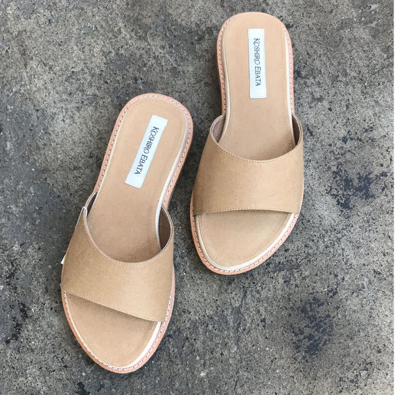 KOSHIRO EBATA/slip-on sandal