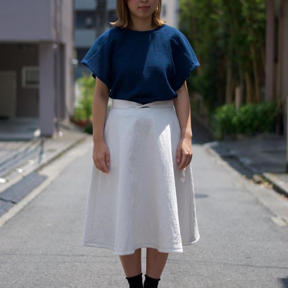 紡ぐストーリー。/カモメ貝フレアスカート(off white)